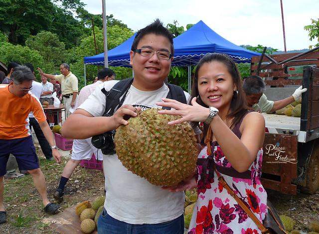karak golden pillow durian