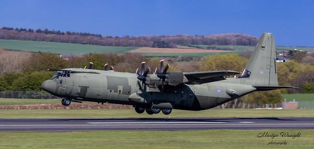 ZH875 RAF Lockheed C130J Hercules C4