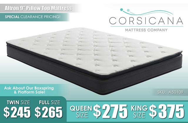 Altron Pillow Top Mattress_A50109_Corsicana_July2021