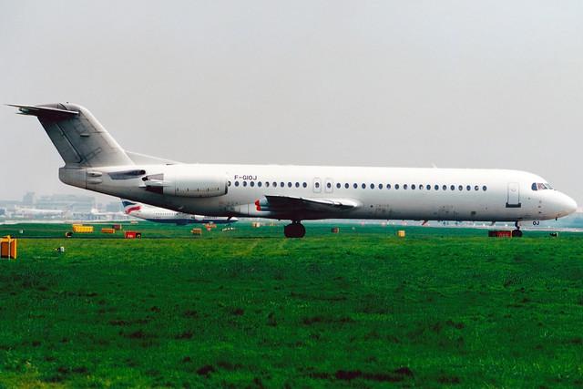Air Liberté | Fokker 100 | F-GIOJ | London Gatwick