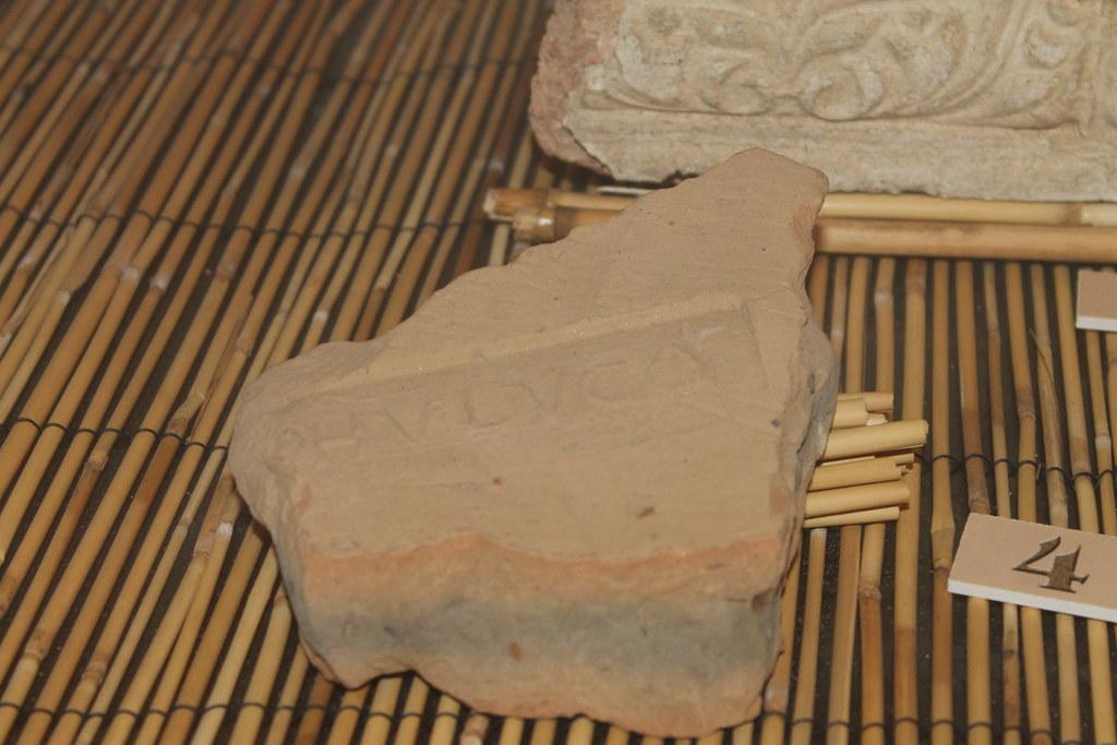 Tile Stamp of the Cohors V Lucensis