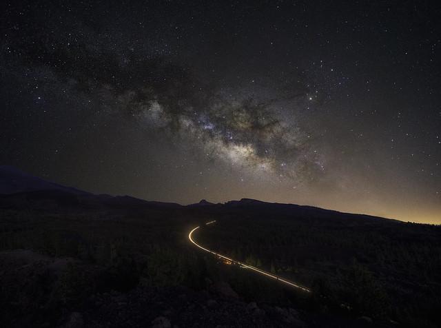 Vía Láctea desde Samara