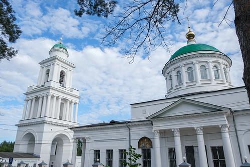 24 июля 2021, 200-летие и престольный праздник Оковецкого собора (Ржев)   24 July 2021, 200th anniversary and patronal feast of the Okovetsky Cathedral (Rzhev)