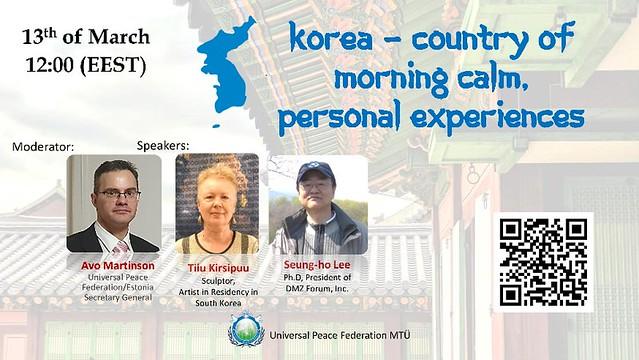 Estonia-2021-03-13-Estonians Relate Their Korean Experiences