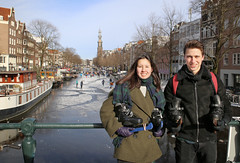 Fantastic skating experience in the heart of Amsterdam Anno 2021