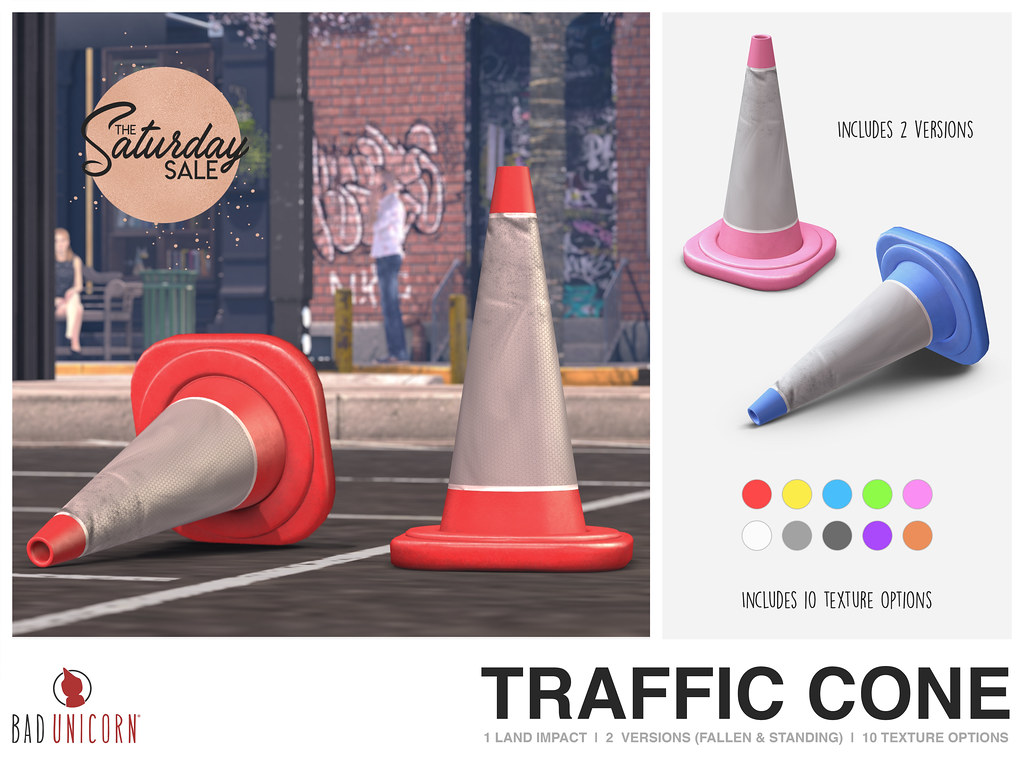 NEW! Traffic Cone's – ONLY 50L