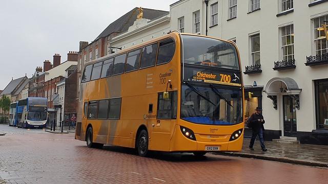 Stagecoach South 10001 (GX12 DXM) Chichester 25/7/21