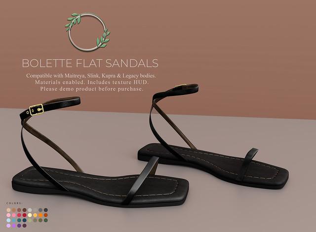 Ohemo - Bolette flat sandals ad