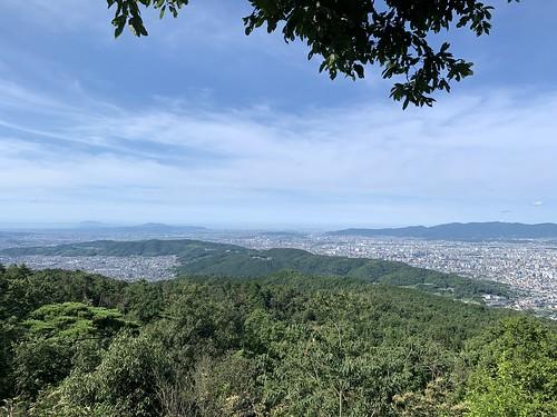 京都一周トレイル 大文字山〜蹴上 大文字山頂