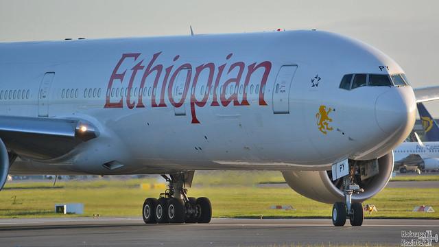 Ethiopian Airlines 🇪🇹 Boeing 777-300 ET-APY