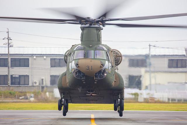 52931, Boeing CH-47J Japan Ground Self Defence Forces @ Akeno RJOE