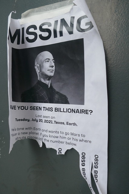 Missing - have you seen this billionaire?
