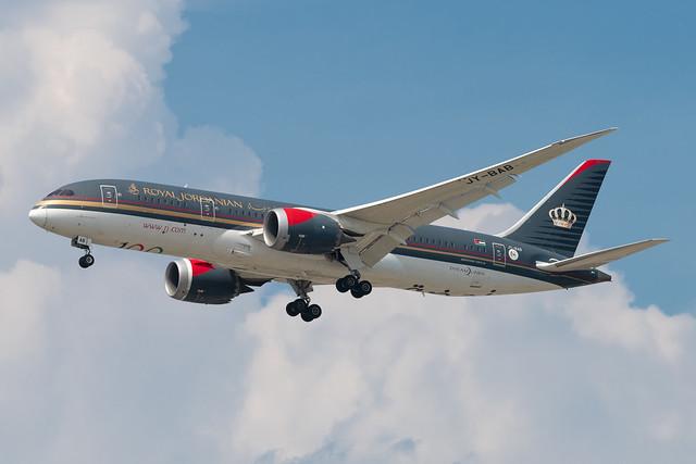 JY-BAB Boeing 787-8 35319 KORD