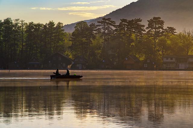 Early morning on the lake.  (Tata - Hungary)