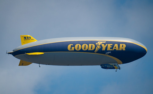 Goodyear Blimp - Wingfoot Three Airship