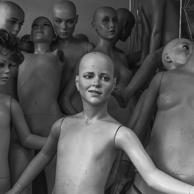 Mannequins Warehouse 16
