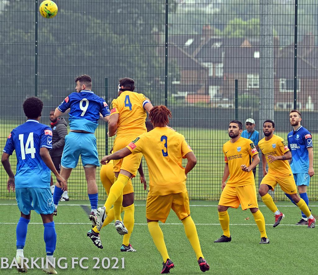 Wingate & Finchley FC v Barking FC - Saturday July 24th 2021