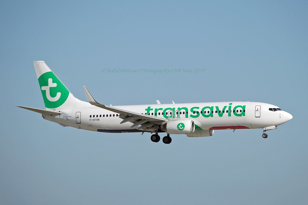 Transavia France F-HTVN Boeing 737-8GJ Winglets cn/34896-1861 @ LFPO / ORY 18-07-2021