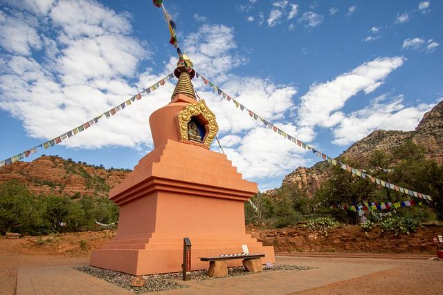 100 by bike: Sedona Stupa