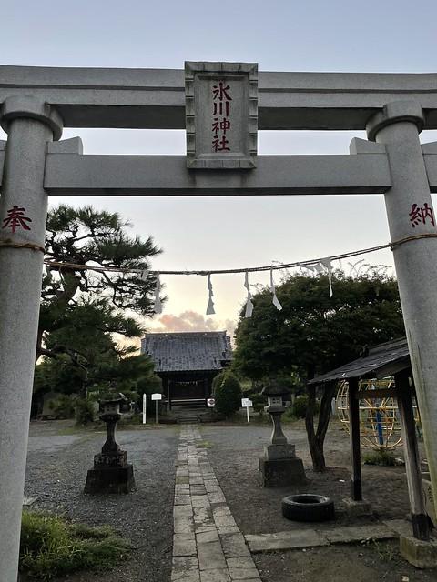 産財氷川神社(中ノ氷川神社)