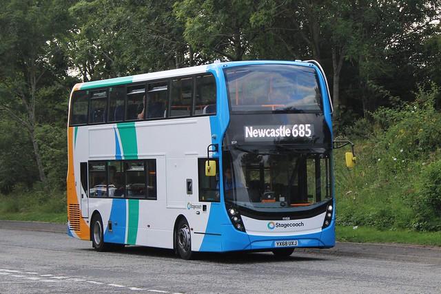 Stagecoach 11158 / YX68 UXJ