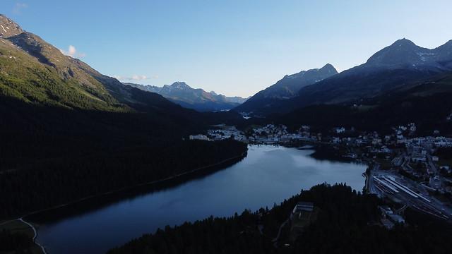 Summer Night at Lake St. Moritz