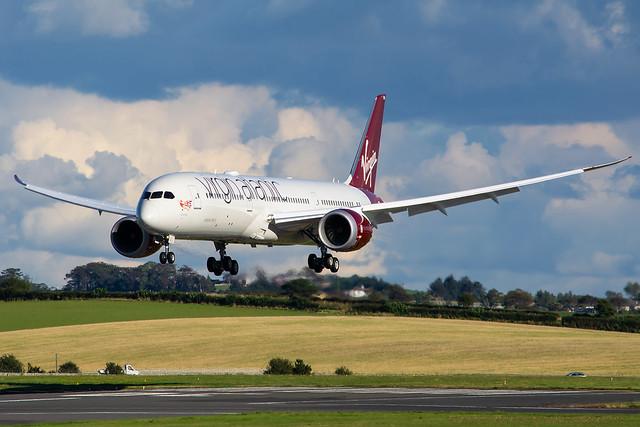 G-VCRU Virgin Atlantic - Boeing 787-9 Dreamliner