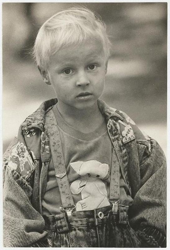 1990. Митька (сын) – любитель мультиков