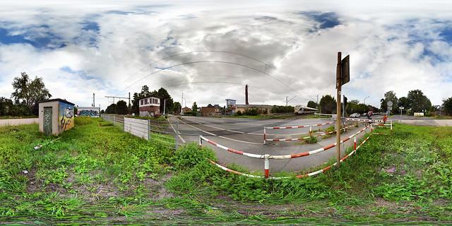Boisheim Railroad Crossing