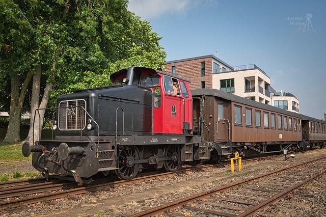 """Diesellok 1 """"Zuckersusi"""", Bj. 1959 durch Henschel"""
