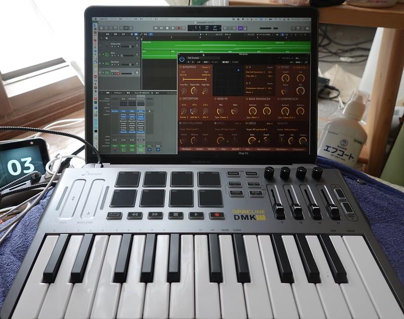 Donner MIDIキーボード 25鍵 MIDIコントローラー USB ベロシティ対応