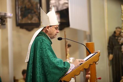 Msza św. dziękczynna w Nowej Białej