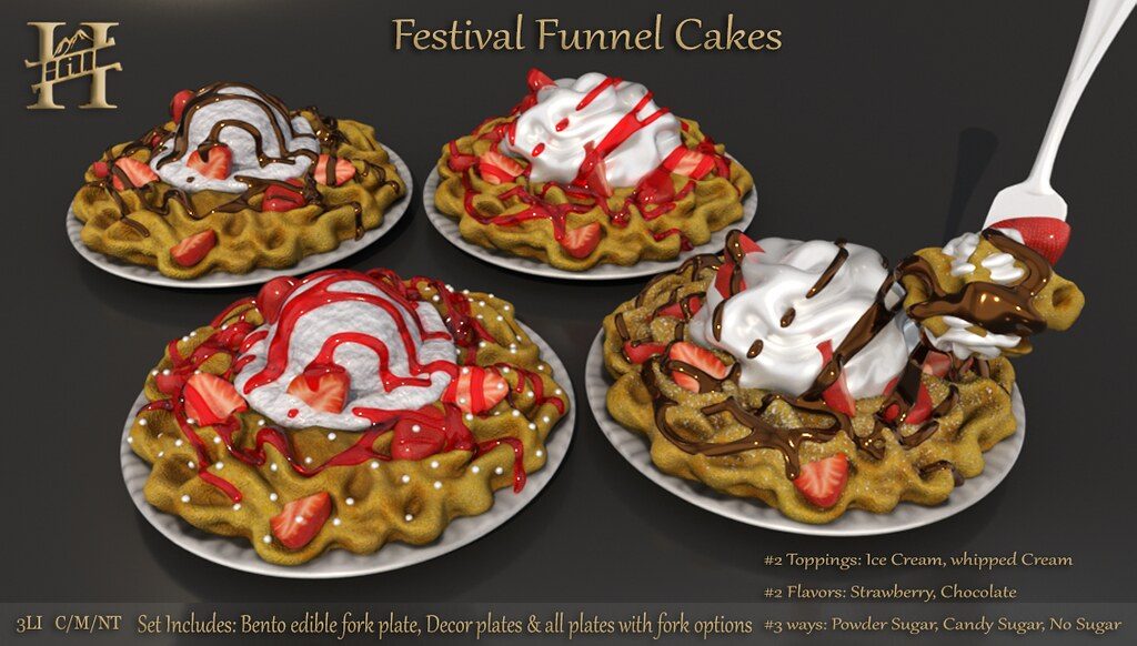 Chef HILL ~ Festival Funnel Cakes