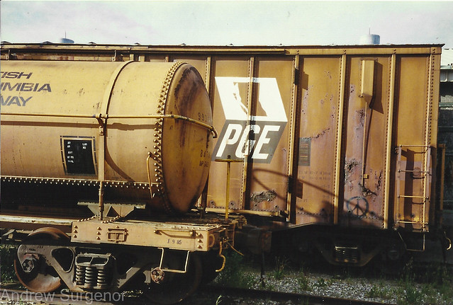 BC Rail -  Names of the past