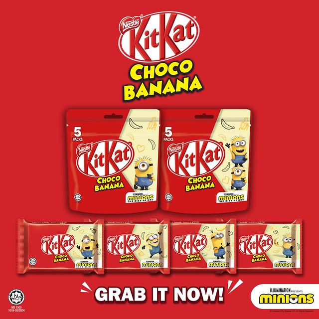 Kitkat Choco Banana
