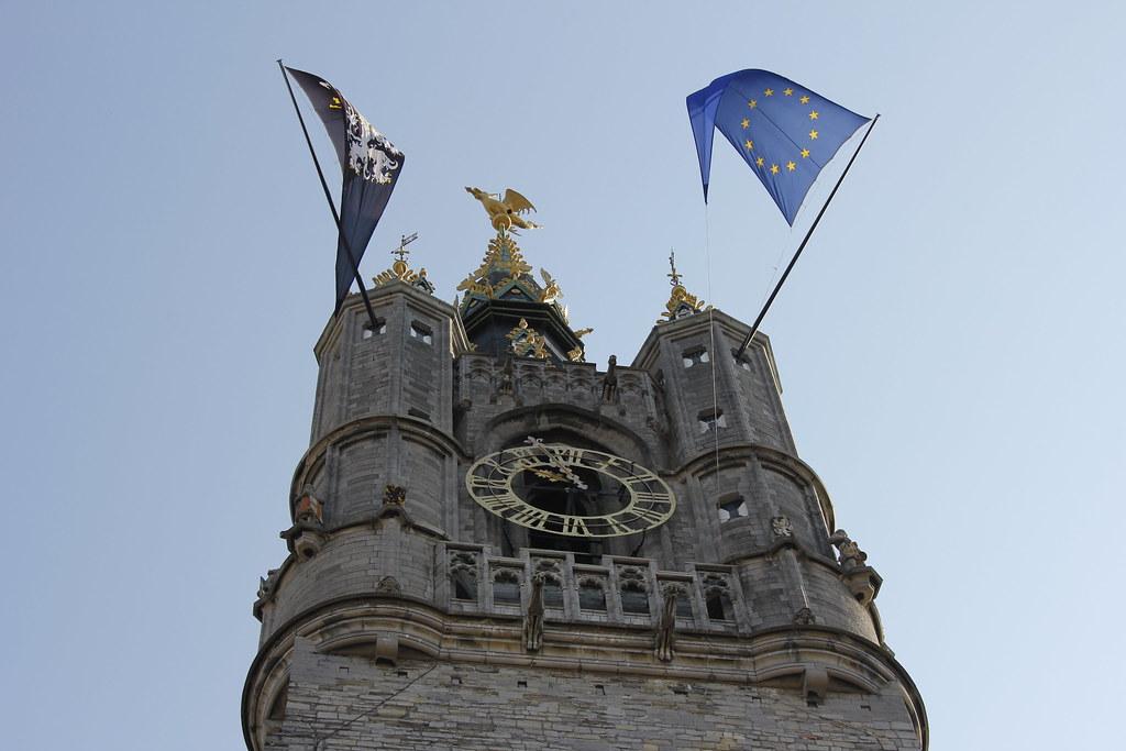 Banderas en Belfort