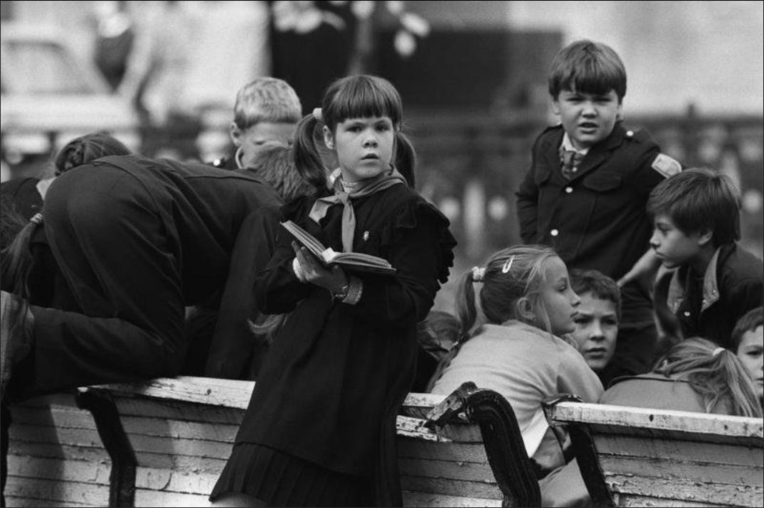 1990. Перемена в школе