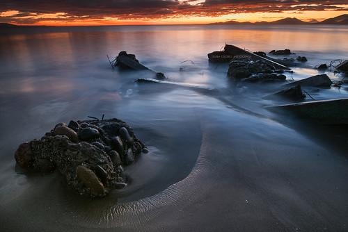 The sea, beautiful and powerful