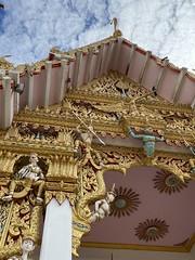 #temple facade in 3D #bangkok