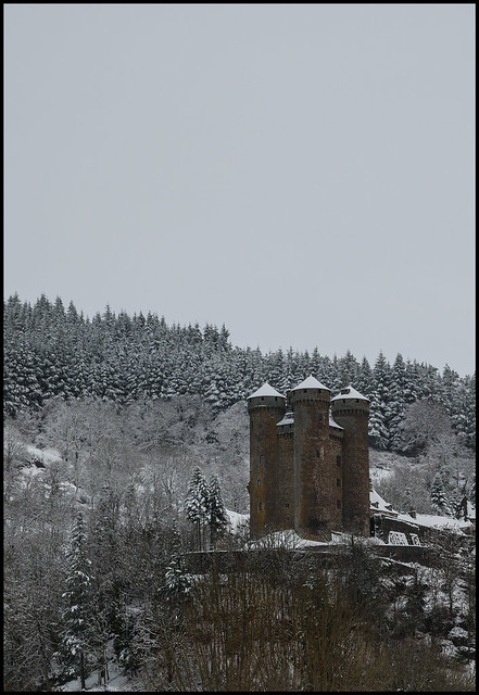 The Cantal in January
