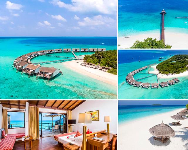 El hotel todo incluido más barato de Maldivas con habitaciones sobre el agua