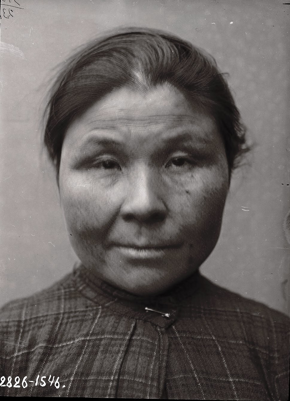1909. Март - апрель. Аграфена Суворова (фас). Алеутские острова, Умнак остров