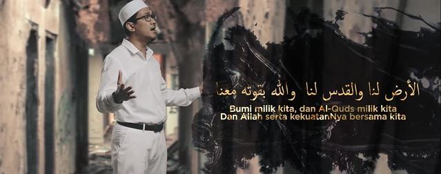 Alunan Lagu Al-Quds Lana' Dari Inteam Berkumandang Di Bumi Gaza