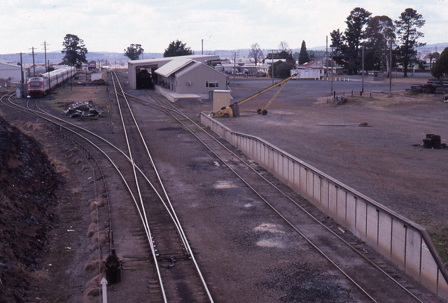 Glen Innes yard 1985