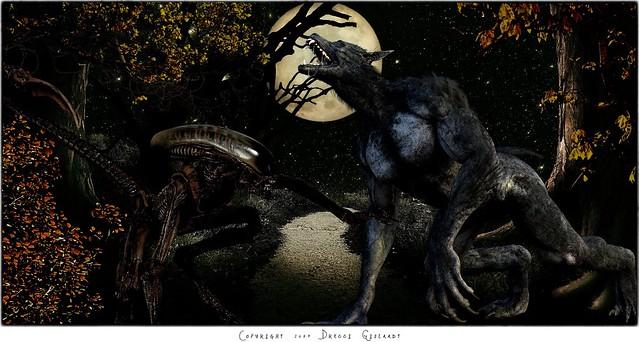 Aliens vs Werewolves