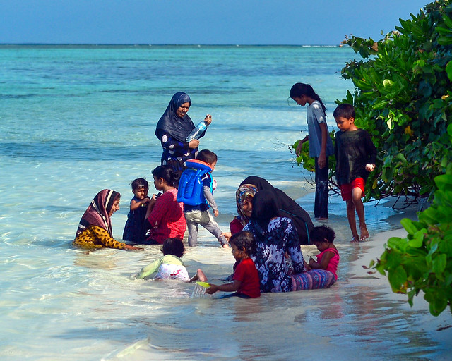 Bikini beach y normas de vestimenta en Maldivas