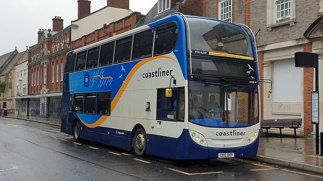 Stagecoach South 10008 (GX12 DXP) Chichester 25/7/21