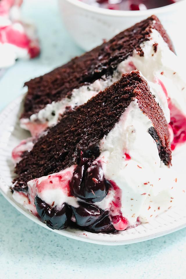 Black Forest Naked Cake