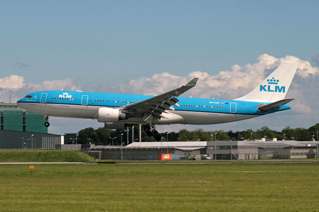 PH-AOF Airbus A-330-203 KLM-Royal Dutch Airlines