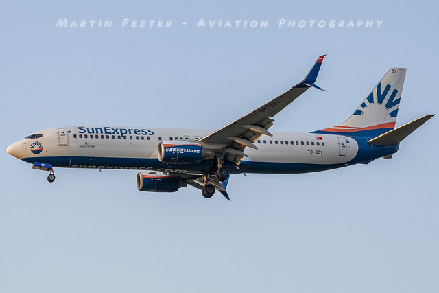 TC-SOY // SunExpress // Boeing 737-8HC(WL)